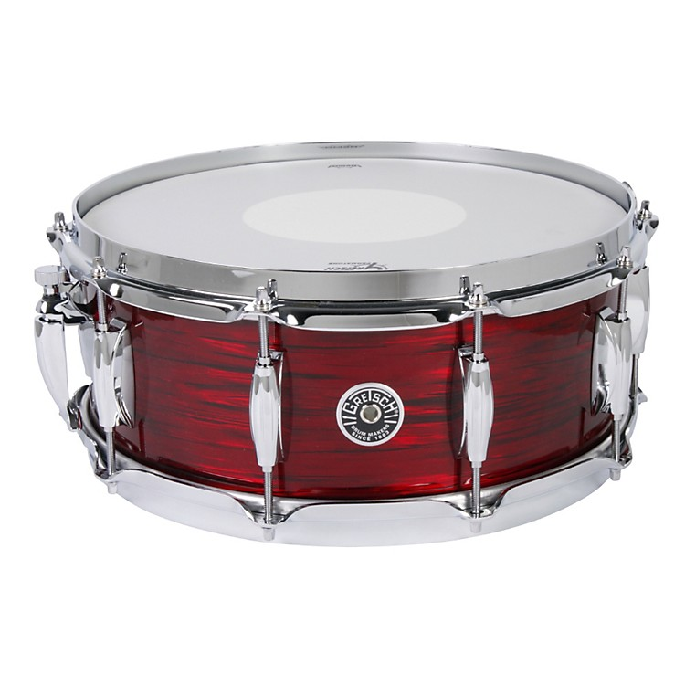 Gretsch Drums Brooklyn Series Snare Drum Ruby Red Oyster 5.5X14