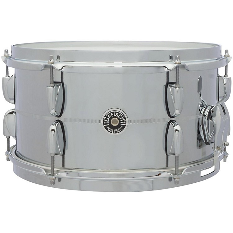 Gretsch drums brooklyn series steel snare drum 13x7 for Yamaha stage custom steel snare drum 14x6 5