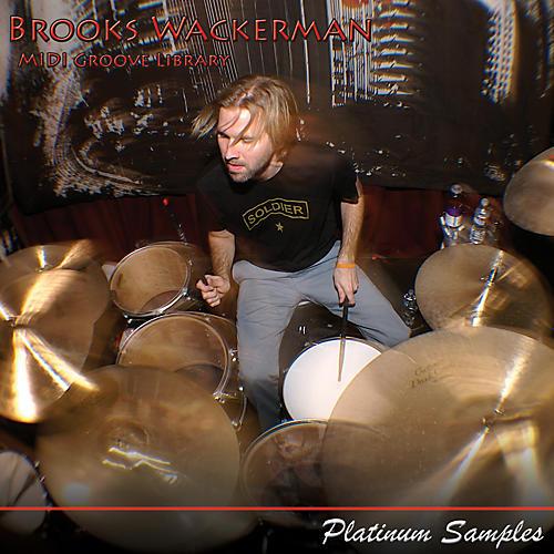Platinum Samples Brooks Wackerman Grooves Multi-Format MIDI Grooves Library-thumbnail