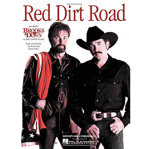 Hal Leonard Brooks and Dunn: Red Dirt Road Piano Vocal Book