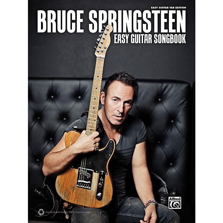 AlfredBruce Springsteen - Easy Guitar TAB Songbook