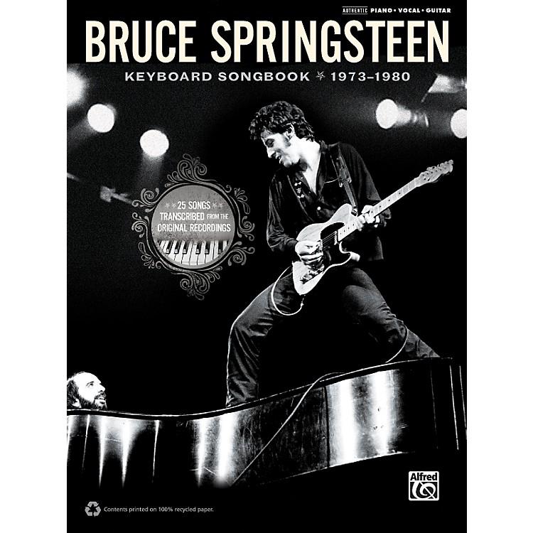 AlfredBruce Springsteen - Keyboard Songbook 1973-1980