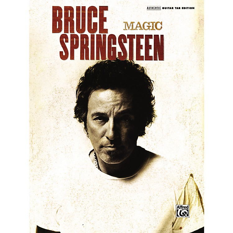 Alfred Bruce Springsteen - Magic Guitar Tab