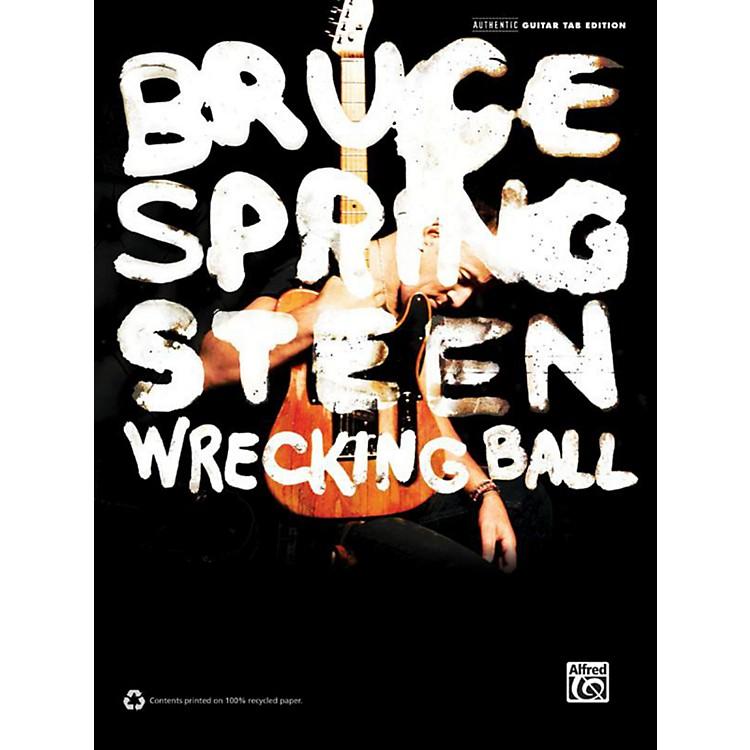 AlfredBruce Springsteen - Wrecking Ball Guitar TAB Book