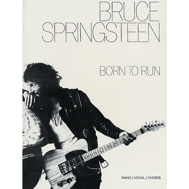 AlfredBruce Springsteen Born to Run Piano/Vocal/Chords Book