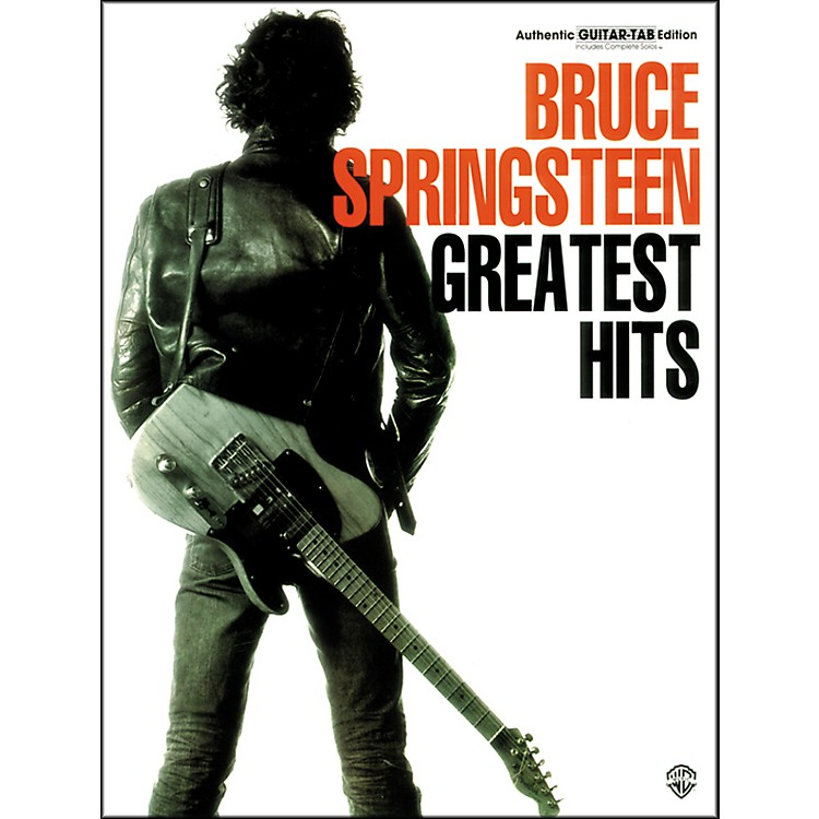 Alfred Bruce Springsteen Greatest Hits Guitar TAB