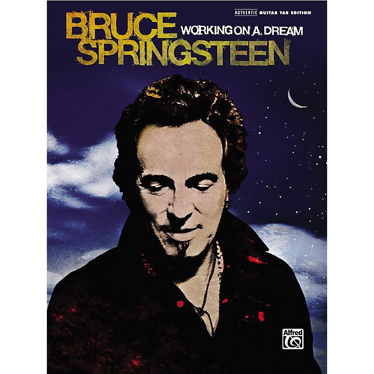 AlfredBruce Springsteen Working on a Dream Guitar TAB