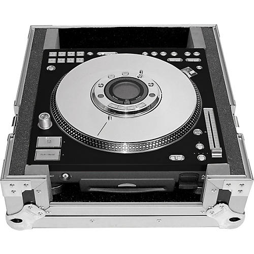 Odyssey Brushed Aluminum Faceplate for Technics SL-DZ1200 CD Player-thumbnail