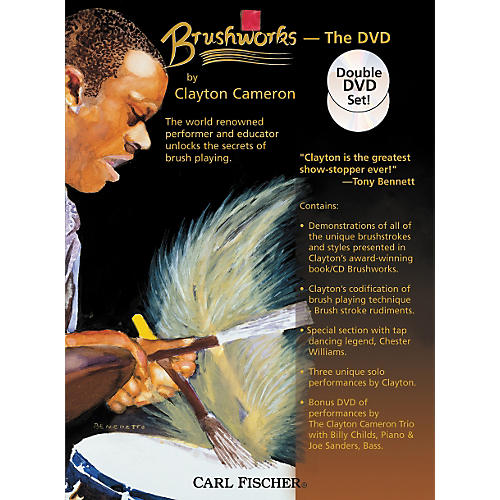 Carl Fischer Brushworks the DVD by Clayton Cameron