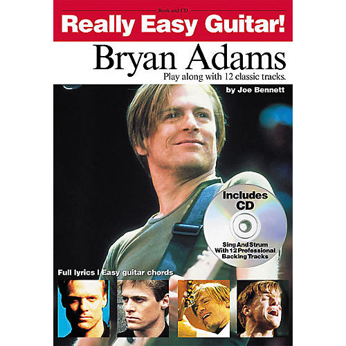 Hal Leonard Bryan Adams - Really Easy Guitar! Book