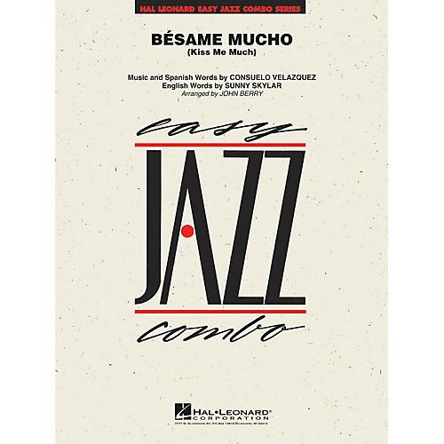 Hal Leonard Bésame Mucho (Kiss Me Much) Jazz Band Level 2 Arranged by John Berry-thumbnail