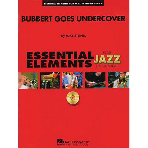 Hal Leonard Bubbert Goes Undercover Jazz Band Level 1.5 Arranged by Mike Steinel-thumbnail