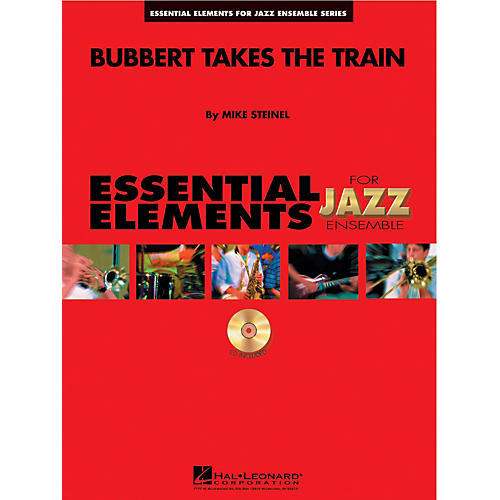 Hal Leonard Bubbert Takes the Train Jazz Band Level 1-2 Composed by Mike Steinel