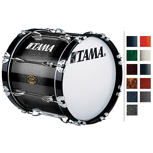 Tama Marching Bubinga/ Birch Bass Drum Copper Mist Fade 14x14