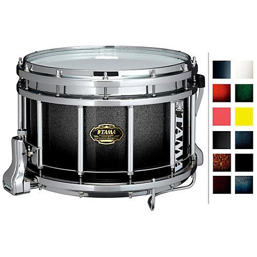 Tama Marching Bubinga/ Birch Snare Drum Indigo Sparkle Fade 9x14