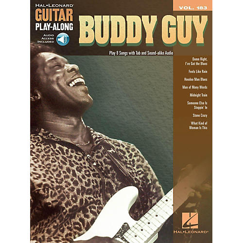 Hal Leonard Buddy Guy - Guitar Play-Along Volume 183 (Book/Audio Online)-thumbnail