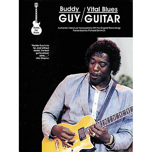 Creative Concepts Buddy Guy - Vital Blues Guitar Tab Book