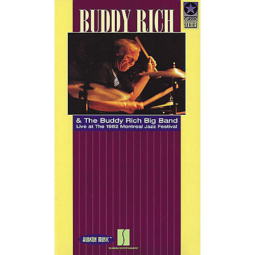 Hudson Music Buddy Rich - Live at the 1982 Montreal Jazz Festival Video