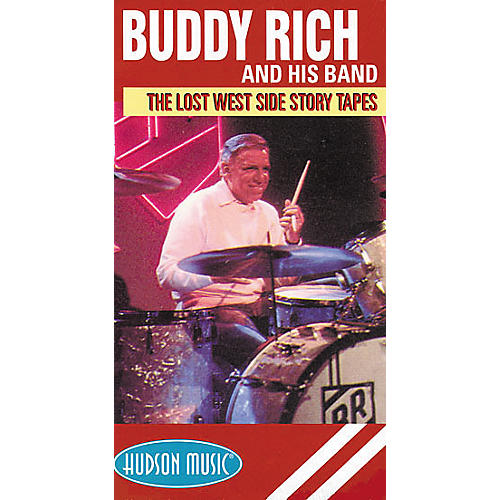 Hudson Music Buddy Rich Lost Tapes (VHS)