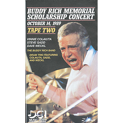 Warner Bros Buddy Rich Memorial Scholarship Concert, Tape 2 (Video)