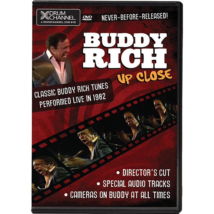 Alfred Buddy Rich Up Close DVD & CD
