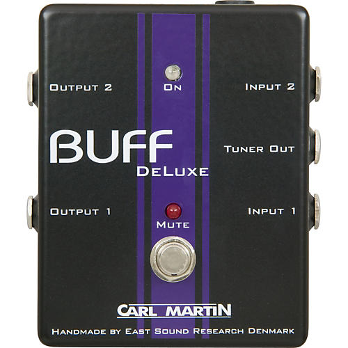 Carl Martin Buff Deluxe Boost Guitar Effects Pedal