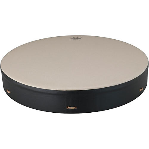 Remo Buffalo Drum with Comfort Sound Technology 22 in. Black