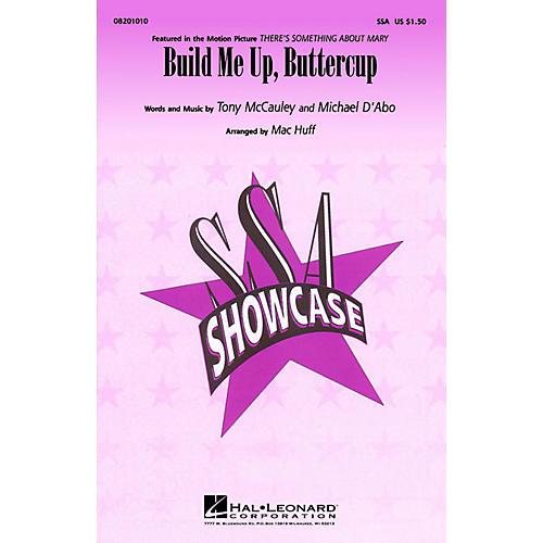 Hal Leonard Build Me Up Buttercup ShowTrax CD Arranged by Mac Huff-thumbnail