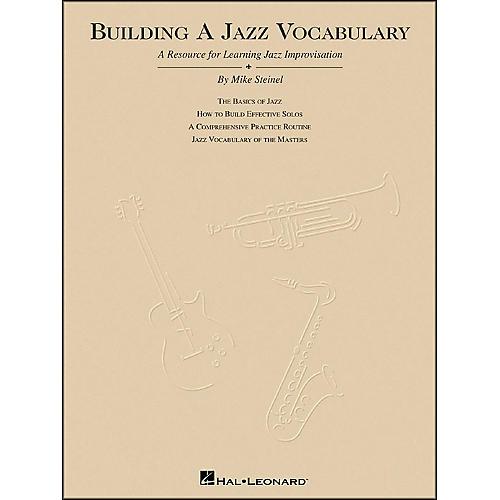 Hal Leonard Building A Jazz Vocabulary