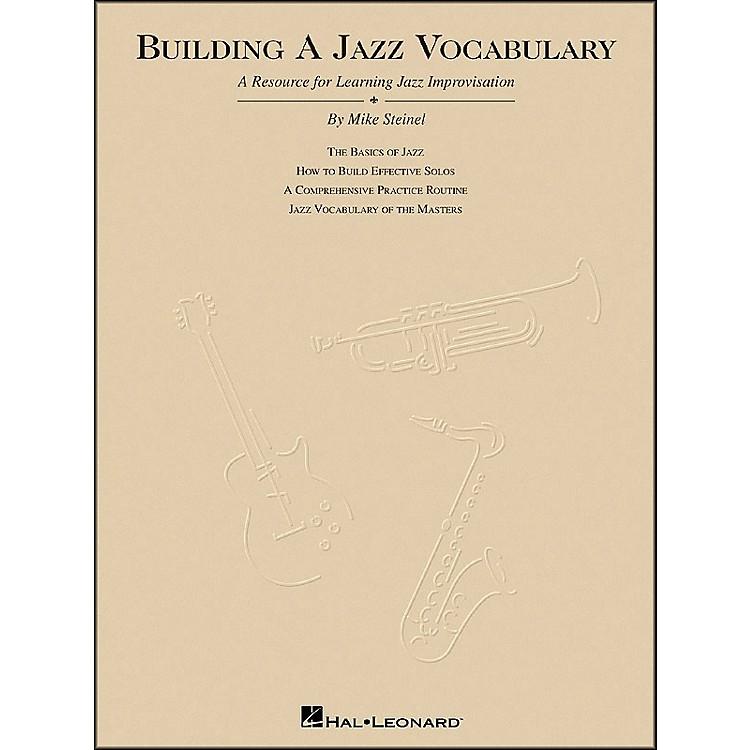 Hal LeonardBuilding A Jazz Vocabulary