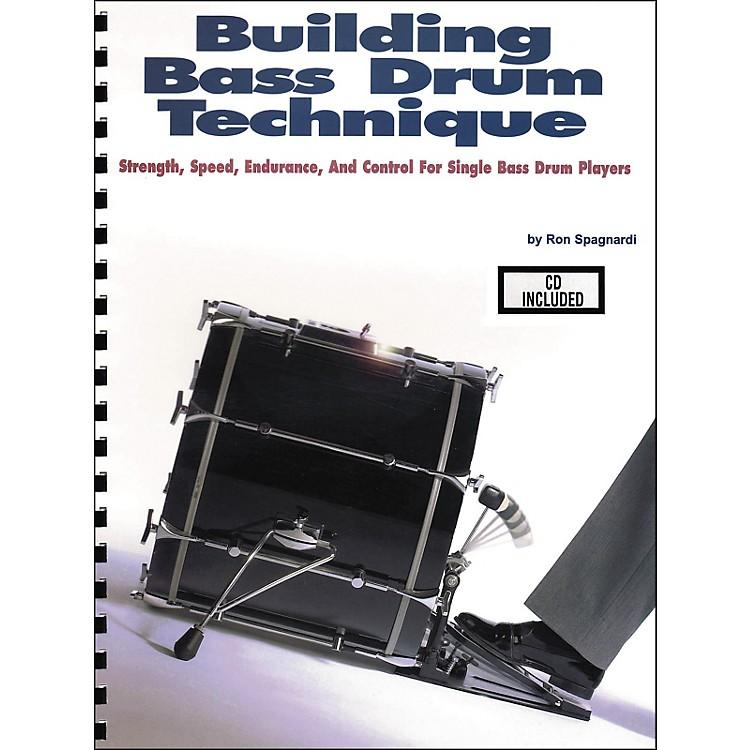 Modern DrummerBuilding Bass Drum Technique Book/CD