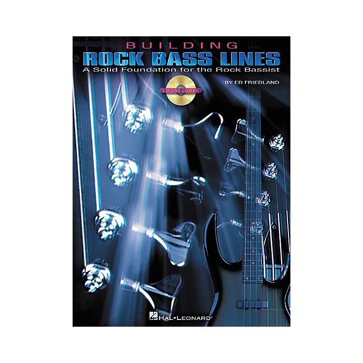 Hal LeonardBuilding Rock Bass Lines (Book/CD)
