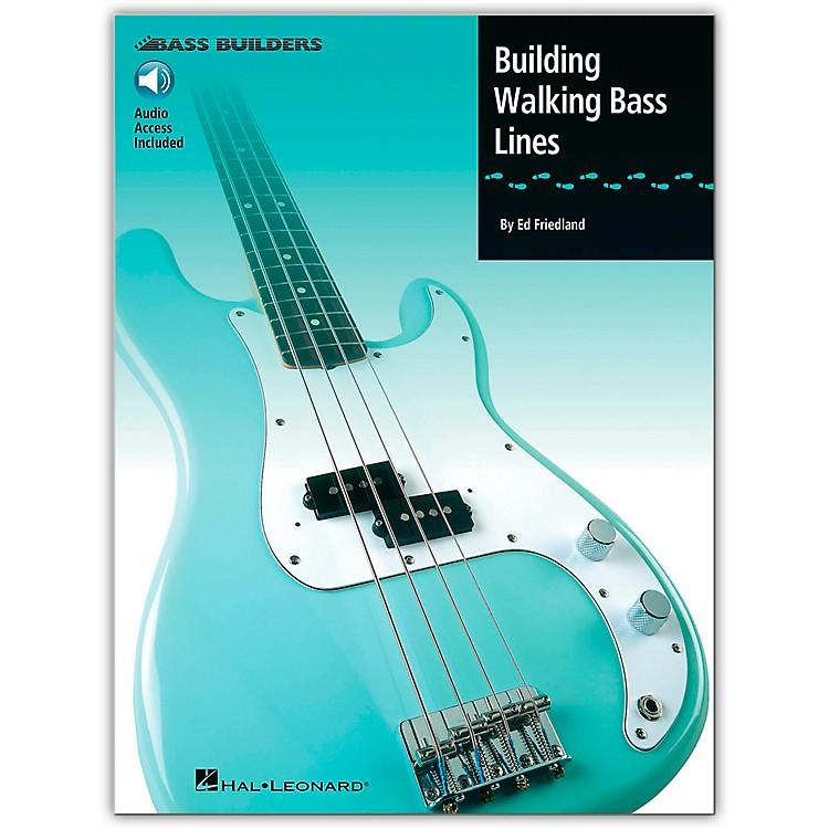 Hal LeonardBuilding Walking Bass Lines (Book/CD)