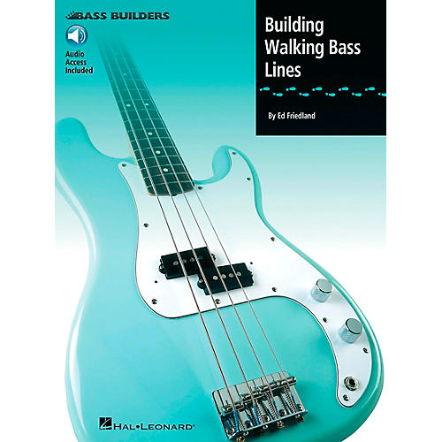 Hal Leonard Building Walking Bass Lines (Book/Online Audio)-thumbnail