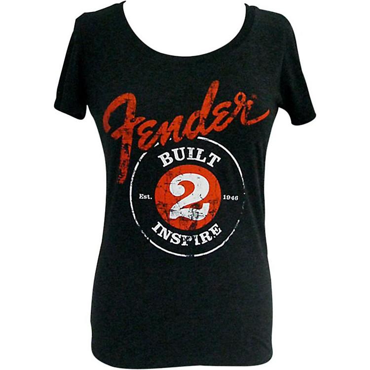FenderBuilt 2 Inspire Ladies T-ShirtBlackXLarge