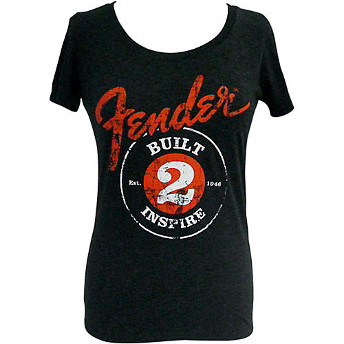 Fender Built 2 Inspire Ladies T-Shirt