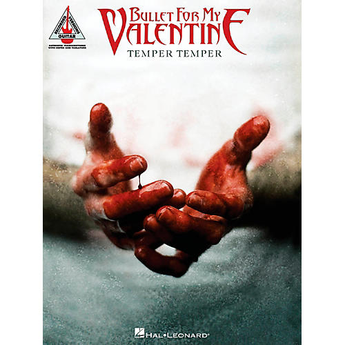 Hal Leonard Bullet For My Valentine - Temper Temper Guitar Tab Songbook