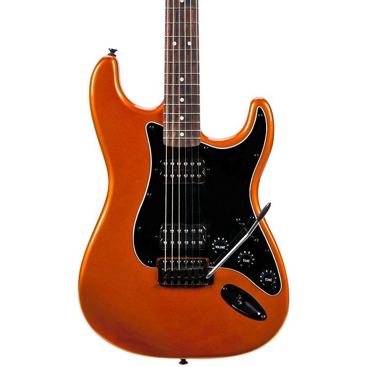SquierBullet HH Stratocaster Electric Guitar with TremoloMetallic Orange