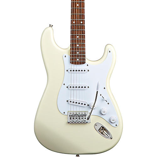 squier bullet strat with tremolo arctic white musician 39 s friend. Black Bedroom Furniture Sets. Home Design Ideas