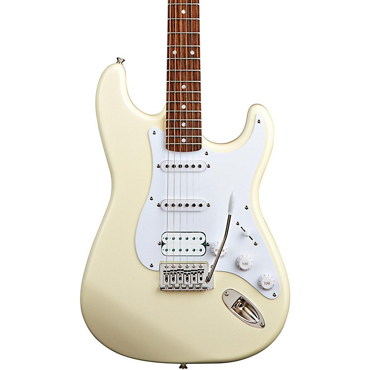 Squier Bullet Stratocaster HSS Electric Guitar with Tremolo Arctic White