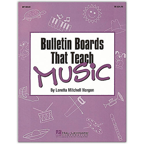 Hal Leonard Bulletin Boards That Teach Music Book-thumbnail