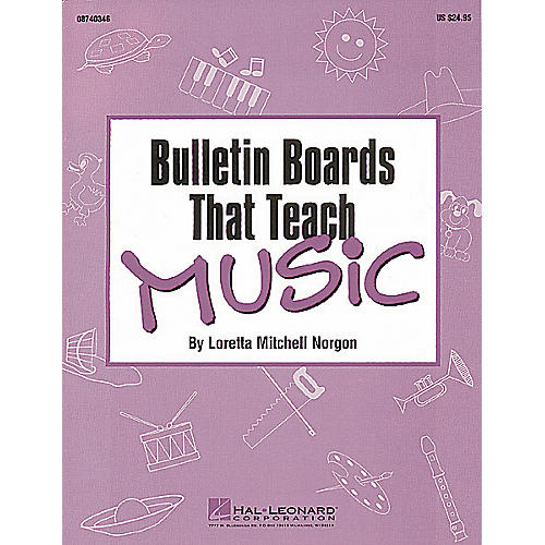 Hal Leonard Bulletin Boards That Teach Music Reproducible Pack-thumbnail