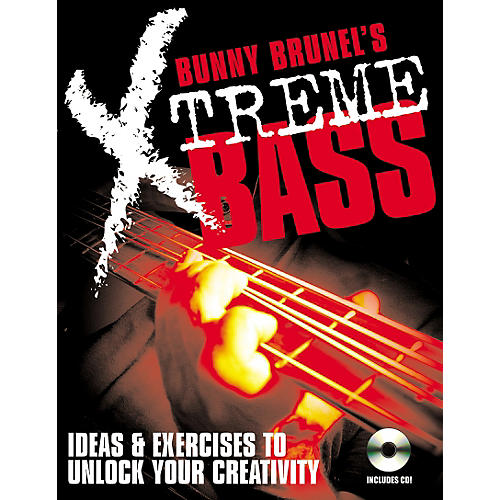 Backbeat Books Bunny Brunell's Xtreme Bass (Book/CD)