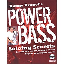 Backbeat Books Bunny Brunel's Power Bass: Soloing Secrets (Book/CD)
