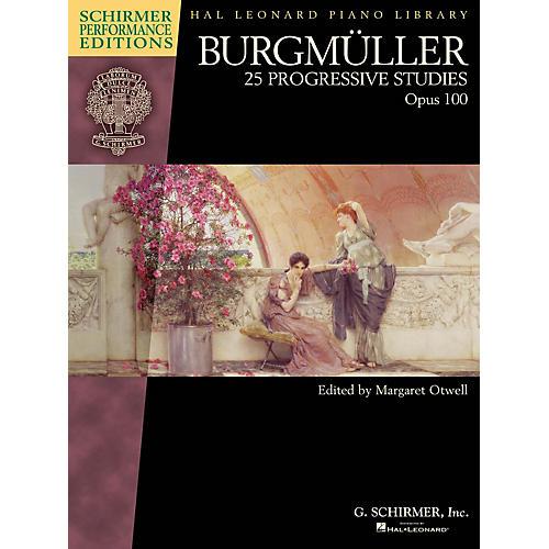 G. Schirmer Burgmüller - 25 Progressive Studies, Op 100 Schirmer Performance Editions by Burgmüller Edited by Otwell-thumbnail
