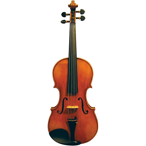Maple Leaf Strings Burled Maple Craftsman Collection Violin-thumbnail