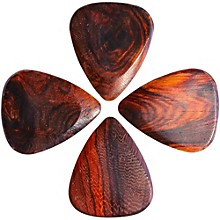 Timber Tones Burma Padauk Guitar Picks, 4-Pack