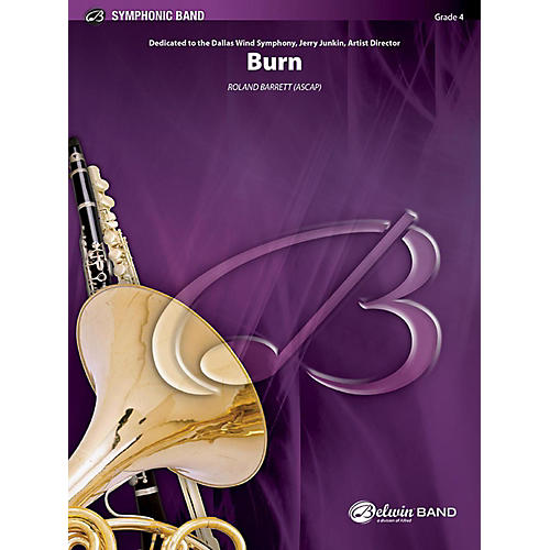 Alfred Burn Concert Band Grade 4 Set-thumbnail