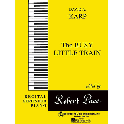 Lee Roberts Busy Little Train Pace Piano Education Series Composed by David A. Karp-thumbnail