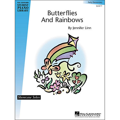 Hal Leonard Butterflies And Rainbows Early Elementary Level 1 Showcase Solos Hal Leonard Student Piano Library